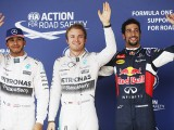 Rosberg on pole in shortened session
