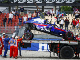 How much Toro Rosso spent on fixing crashed cars in 2018...