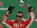 Kimi on podiums, parties and power units