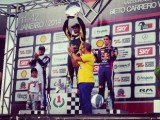Liuzzi wins Massa's kart event