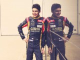 Ocon completes test with Lotus