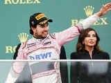 Sergio Perez keeps Baku F1 podium after stewards' DRS investigation