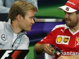Nico Rosberg: Sebastian Vettel a 'sensible' option for Merc in 2018