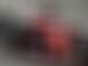 Vettel crashes during Pirelli wet-tyre test