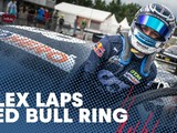 Video: Albon takes on the Red Bull Ring in his DTM car
