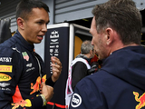 "Albon in need of ""straightforward, boring weekend"" - Horner"