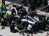 Mercedes claims it completed an F1 pitstop in 1.8 seconds in China
