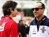 Robert Kubica revealed he had signed for Ferrari in 2012 alongside Fernando Alonso