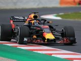 Red Bull lead the way on opening day of first Barcelona test