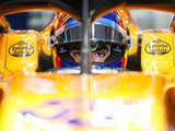 Sainz quickest as Vettel crashes