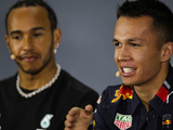 Red Bull: A 'huge shame' for Hamilton to cost Albon podium spot