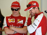 """Vettel: Keeping Kimi the """"right thing to do"""""""