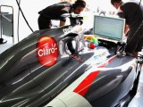 Sauber loses weight for Spain