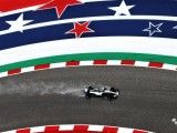 Lewis Hamilton comfortably leads wet opening US Grand Prix practice session