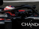 Button, Perez and Verstappen test 'halo'