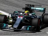 Lewis Hamilton stays on top in Brazil FP2