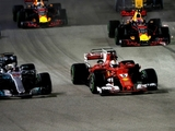Hamilton wins, Vettel out after start drama