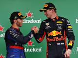 Verstappen on Gasly: 'I always knew he was very quick'