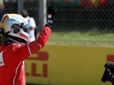 Vettel hails 'phenomenal' car after pole