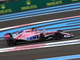 Water Pressure Issue Denies 'Disappointed' Perez Points Finish in France