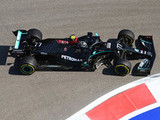 Mercedes sets blistering pace as Red Bull struggles
