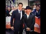 Video: Behind the scenes at the TODAY show in New York - with Lewis Hamilton
