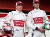 Raikkonen, Giovinazzi to stay with Alfa Romeo in 2021