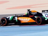 Perez in first for Force India