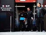 Sounds of movement but no laps from Williams
