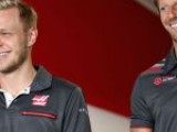 Haas retain Magnussen and Grosjean