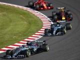 Japanese Grand Prix: Hamilton wins, Vettel clashes with Verstappen