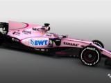 Force India unveils new all-pink livery and sponsor BWT