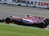 Brake issues compromise Ocon's first Albert Park Practice outing