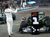 Qualy: Hamilton ends his pole drought in Abu Dhabi