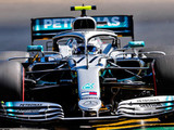 Bottas sets FP1 pace as Ferrari threaten