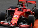 P1: Leclerc fastest, Perez crashes in wet