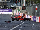Azerbaijan GP halted after high-speed Verstappen accident