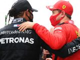 Vettel pleased to witness Hamilton history
