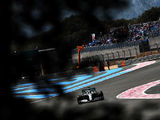 Hamilton leads from start to finish in France