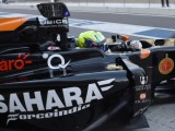 Force India trials 'Info Wing' display system
