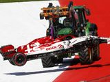 Alfa Romeo fined after Raikkonen's wheel detaches