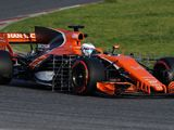 McLaren suffers Honda engine issue on first morning of F1 testing
