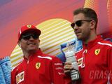 Vettel believes Raikkonen's F1 form is 'distorted'