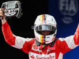 Vettel 'speechless' after first Ferrari win