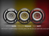 Pirelli reveals 2019 tyre range colours