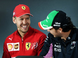 Vettel: Shame if Perez leaves Formula 1