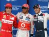 Hamilton beats Maldonado to Barcelona pole