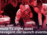 Video: Formula 1's eight most extravagant car launch events