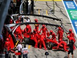 Vettel, Leclerc out after Ferrari's first-lap tangle