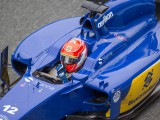 Nasr upbeat after Sauber test debut